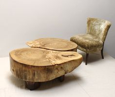SALE Stump Root Coffee Table by realwoodworks1 on Etsy