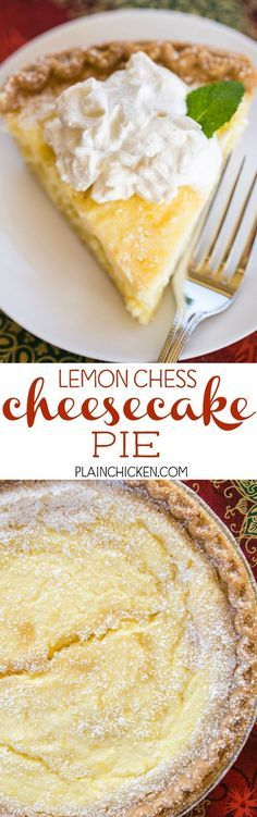 Lemon Chess Cheeseca