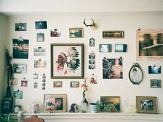 collections of things on the wall