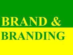 brand-branding by Ali  Hadi via Slideshare