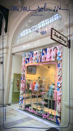 The Mimisol store in Moscow, within the GUM Department Store on Red Square, has flourished in Spring! S