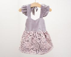 Dark Luna Dress for Babies and Toddlers