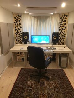 my home studio - just have to add the gear
