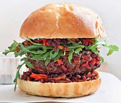 Recipe: Chorizo burger with paprika - Quick and Easy Recipes From Stylist Magazine - Stylist Magazine