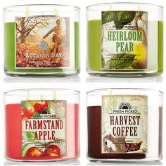 Bath & Body Works Fall 2013 Candles