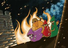 Dopo molto tempo di assenza, dovuto ai mille impegni dell'autore Roberto Recchioni, tornano i 4 HOODS. Il web comic (almeno per ora) - http://c4comic.it/2014/12/29/il-ritorno-dei-4-hoods/