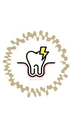 Dental Logo, Dental Art, Classic Cartoon Characters, Classic Cartoons, Dental Cover, Dentist Website, Happy Dental, Medical Health Care, Instagram Highlight Icons