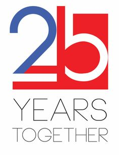 logo 25 years together!