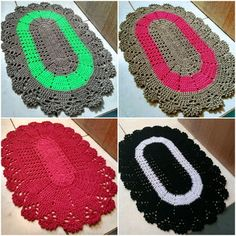 Toddler Play, Toddler Gifts, Baby Gifts, Crochet Table Mat, Crochet Placemats, Cushion Cover Designs, Crochet Home Decor, Booties Crochet, Rainbow Baby