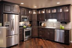 Custom Condominium Kitchen - Kitchen Design Pictures | Pictures Of Kitchens | Kitchen Cabinet Ideas | Cabinetry Gallery