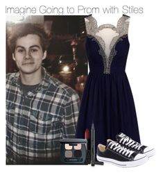 """""""Imagine Going to Prom with Stiles"""" by xdr-bieberx ❤ liked on Polyvore featuring Converse, NARS Cosmetics and Bare Escentuals"""