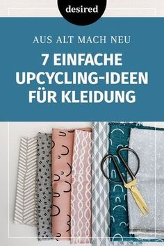 7 einfache Upcycling-Ideen für Kleidung With upcycling you can help your old clothes to a second life. We have 7 simple DIY ideas to do by yourself. Diy Upcycled Art, Upcycled Clothing, T-shirt Refashion, Diy Kleidung Upcycling, Diy Upcycling Mode, Tetra Pack, Upcycled Furniture Before And After, Old Clothes, Crafts To Sell
