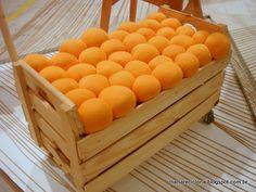 Divertido! caixa de frutas