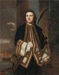 1748 Captain the Honourable George Edgcumbe by Joshua Reynolds