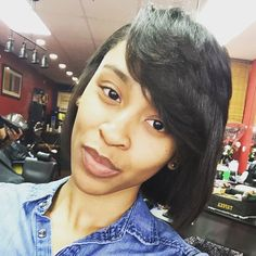 We your client loves her new cut