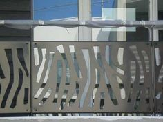 garde corps ruban d coup au laser pour une protection. Black Bedroom Furniture Sets. Home Design Ideas