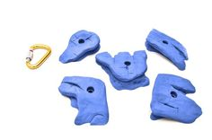 Climbing-ETCH Slicks Set D Climbing Hold, Blue ** Details can be found by clicking on the image.