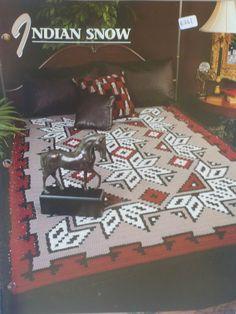 Indian Snow Afghan  Annie's Crochet & Afghan by CarolsCreations77, $1.50