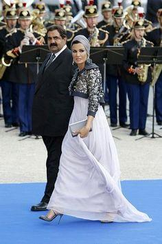 Sheikha Mozah bint Nasser Al Missned of Qatar