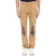 Off-white c/o virgil abloh Men's American Southwest-print Pants in . Off White Pants, Khaki Pants, Supreme Hoodie, White C, Printed Pants, Night Club, Yeezy, Street Wear, Pajama Pants