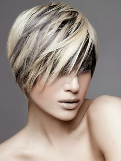 Evolving Fashion - Hair, Nails, Makeup and Clothing. #hair #trendyHairstyles #popularHairstyles #haircoloring #haircolor #highlights #newhairstyles