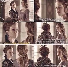 Olivia and Queen Catherine ~ Reign