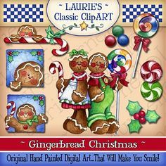 Gingerbread Christmas Digital Art Collection :: Collections :: Clipart and Graphics :: Aimee Asher Boutique
