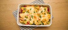 Kyllingform med brokkoli og paprika Scampi, Quiche, Mashed Potatoes, Nom Nom, Chicken Recipes, Food And Drink, Favorite Recipes, Baking, Breakfast