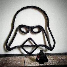 "~ ""Je suis ton père..."" ~ Quand mes clientes ont des demandes bien précises! :) #manitricotine#tricotin#darkvador#starwars#laine#phildar#decoration#faitmain#geek#instageek#starwarsart#knitagram#knit#knitting#spoolknitting#handmadewithlove#madeinlyon#madeinfrance #lesptitsbonheursdemani"