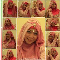 hijab pictorial by @beautyfirda |