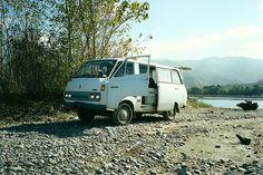 Camper Van Down by the River !