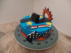 This cake is on fire!