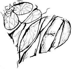Shattered Heart Broken Heart Drawings