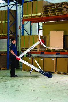 Materials handling lift & load solution The Makinex Powered Hand Truck PHT-140 is a universal materials handling solution that enables one person operation to safely lift and load small equipment or bulky goods weighing up to 140kg (309lbs). It provides a quick and easy alternative to using a forklift or tailgate loader for small loads. The Makinex Powered Hand Truck has many applications and can be used in workshops, warehouses, factories, depots, distribution companies, and rental…