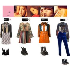 BLACK PINK - PLAYING WITH FIRE❤️ by vvvan99 on Polyvore featuring polyvore, fashion, style, Coach, D&G, Marni, Chanel, Marco de Vincenzo, Topshop and Dr. Martens