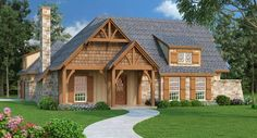 This super green cottage house plan features a screened in porch and covered patio. 2 x 6 framing make it very energy efficient. Take a tour of this new design. http://www.thehousedesigners.com/plan/clifton-1224-5959/