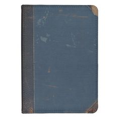 Old Blue Book Cover With Battered Edges Kindle Touch Cover