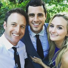 Absolute love for these two. So happy they found each other #TheBachelor @higgins.ben @lauren_bushnell Thank you #BachelorNation for being along for the ride