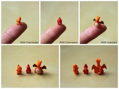 Project 151: Charmander, Charmeleon, Charizard by lonelysouthpaw.deviantart.com on @deviantART