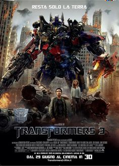 Transformers 3: The Dark Side of the Moon (watched, enjoyed it)