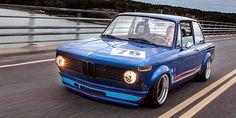 Tony Suominen's BMW '76 1502 powered by a Honda S2000 motor //