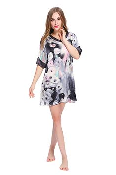 Women Silk Nightgown  #Mother's Day Gift#Silk Sleepwear#Silk Nightwear#Silk Nightgown