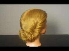 Повседневная прическа. Easy updo for everyday. How to fishtail braid