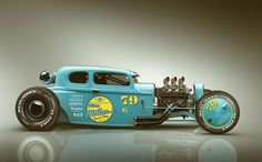 THE 79 COUPE rendered in KeyShot by Mike Lugnegard