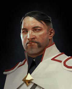 Dishonored 2, Character Concept, Character Art, Concept Art, Call Of Cthulhu, Digital Portrait, Portrait Art, Digital Art, Sergey Kolesov