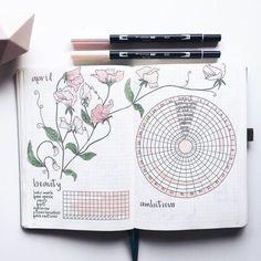 Beauty & Habit Tracker by month