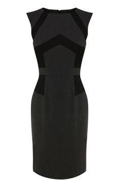 Panelled Work Wear Dress