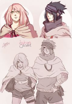 Sasuke and Sakura - The Last: Naruto the Movie.....I am excited and sad at the same time