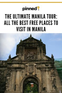 If you want to get to know the soul of the city without spending a cent, check out our list of the best free attractions to visit in Manila. Historical Sites, Manila, Barcelona Cathedral, Philippines, Spanish, Places To Visit, Houses, Good Things, Park