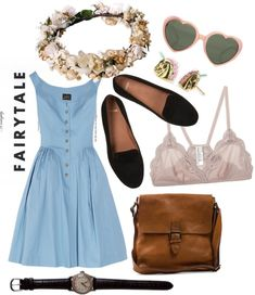 """Modern Fairytale"" by avecwanderlust ❤ liked on Polyvore"